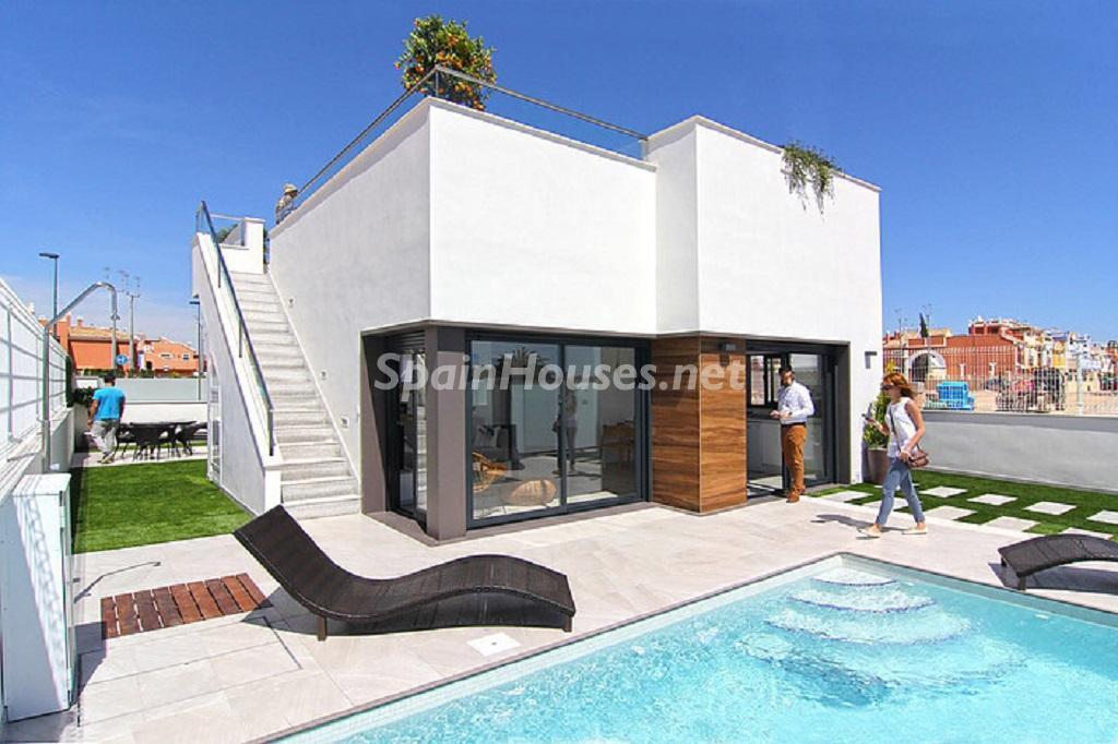 Badezimmer Französisch Villa Zum Verkauf In Los Alcázares Ref 40 00079  Spainhouses Net