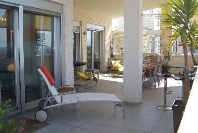 Holiday rental penthouse apartment in Dénia (Alicante)