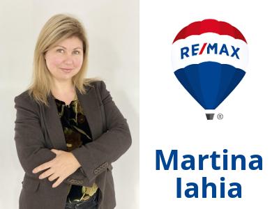 Martina Iahia, real estate personal shopper