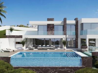 New construction villas in Mijas Pueblo - Peña Blanquilla (district) -  SpainHouses.net